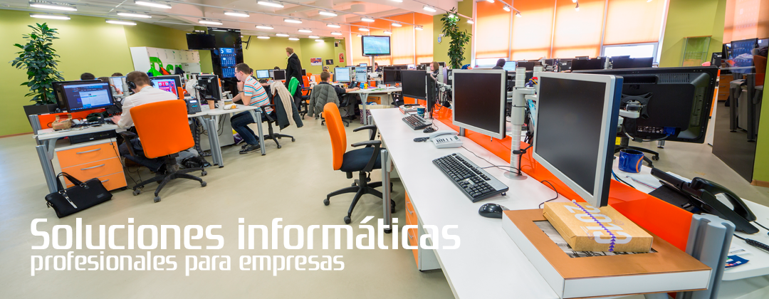 Soluciones informaticas profesionales para empresas