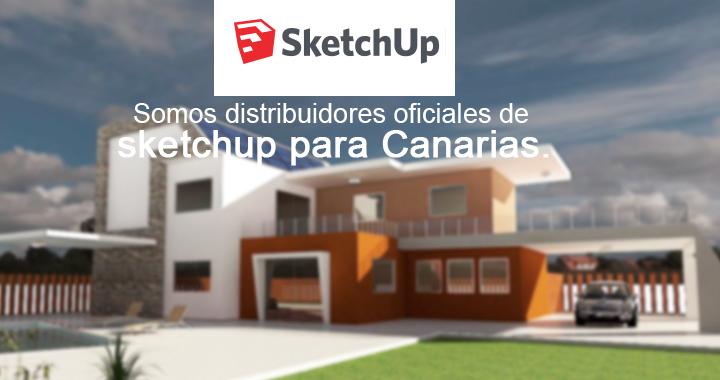 Somos distribuidores oficiales de sketchup para Canarias