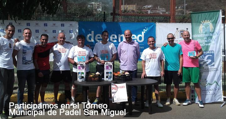 Torneo municipal de Padel de San Miguel