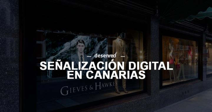 Instalacion y control de contenidos señalización pantallas multimedia en Canarias