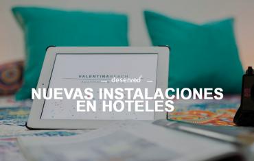 Equipación informática e instalación de Wifi en el Hotel Valentina Beach
