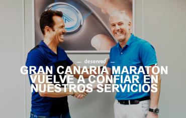 Estaremos presentes en la próxima edición de Gran Canaria Maratón 2018