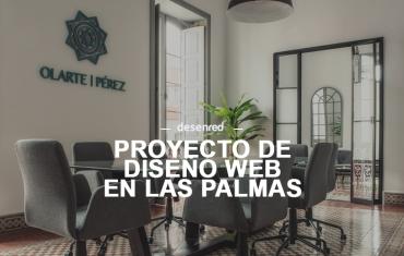 Desarrollo del proyecto web para Olarte & Pérez Abogados