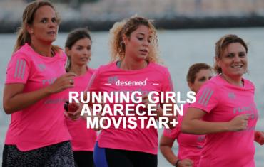 Running Girls en el programa Maraton Man de Movistar+